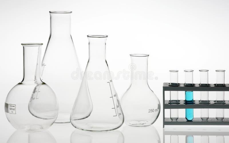 szkło laboratoryjne asortowany laboratorium badania obrazy royalty free