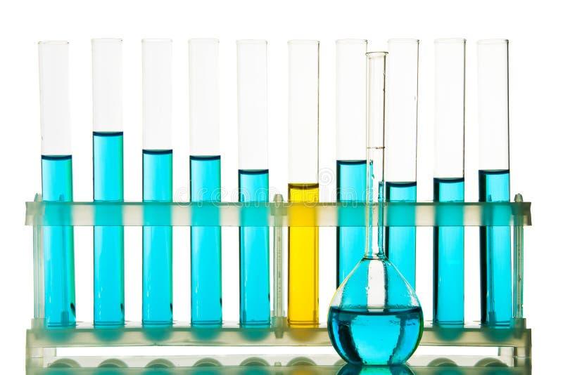 szkło laboratoryjne chemiczny obrazy stock
