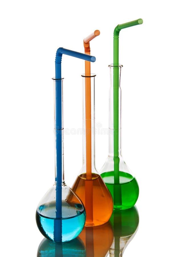 szkło laboratoryjne chemiczny zdjęcia royalty free