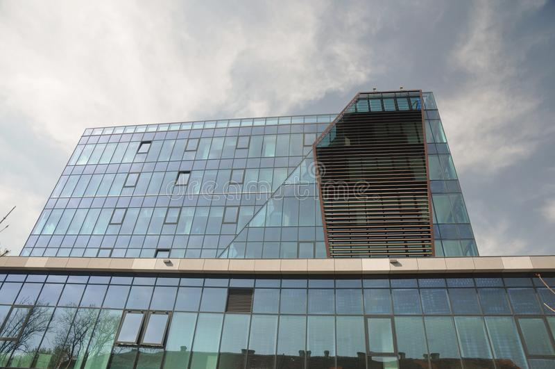 szkło nowoczesny budynek obraz stock