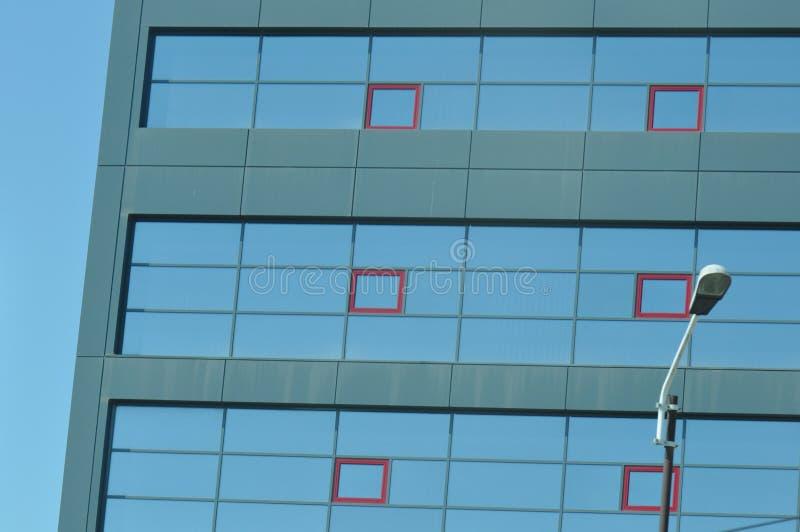 szkło nowoczesny budynek obrazy stock