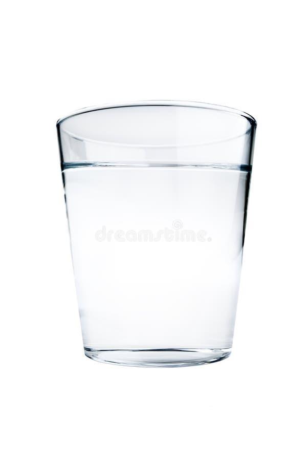 szkło odizolowywająca woda zdjęcia stock