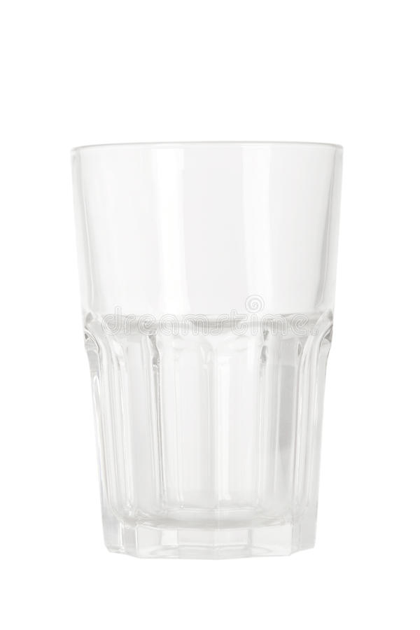 szkło pusta woda zdjęcia stock