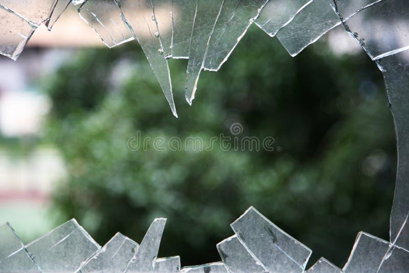 szkło rozbijający obraz royalty free