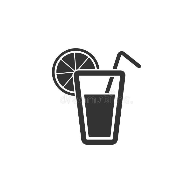 Szkło sok ikona Prosta element ilustracja Szkło soku symbolu projekt od Ciążowego kolekcja setu Może używać w sieci a ilustracja wektor