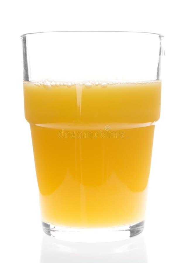 Szkło Sok Pomarańczowy Obrazy Stock
