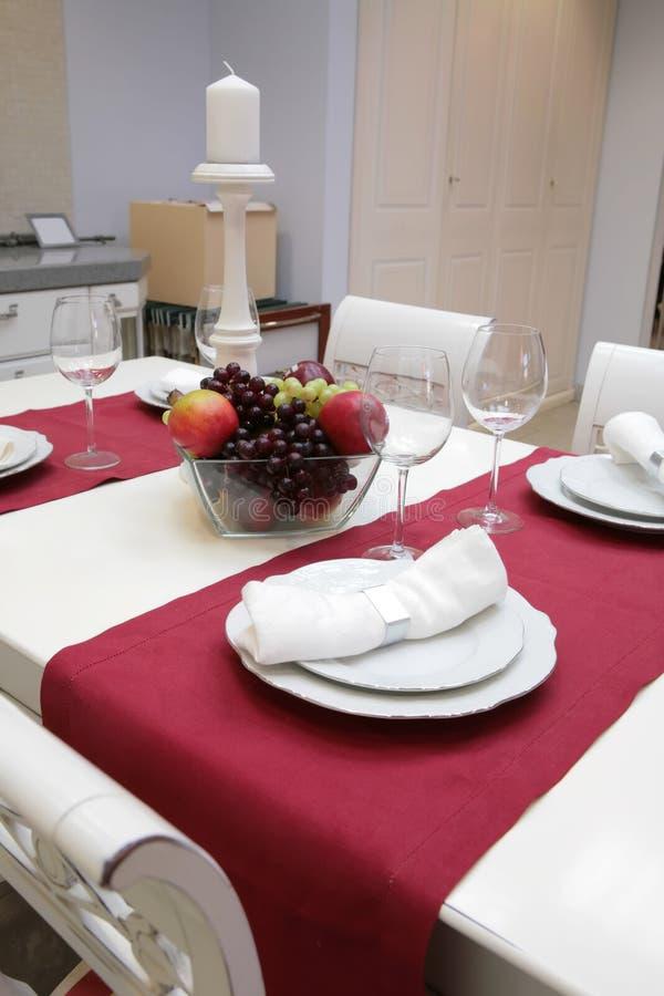 szkło stołowa waza zdjęcia royalty free