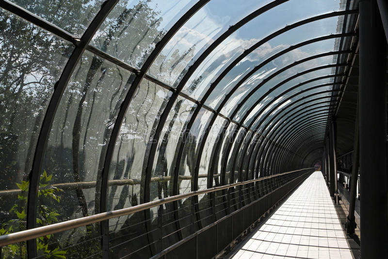 szkło tunel fotografia royalty free
