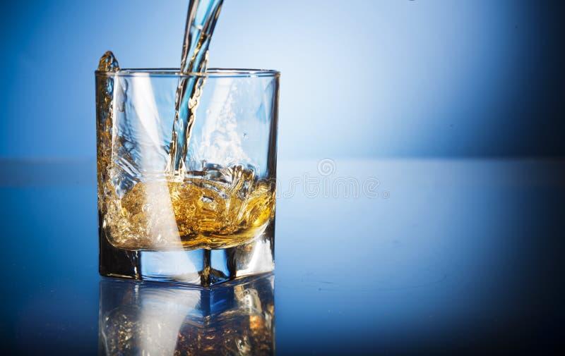 Szkło whisky fotografia royalty free
