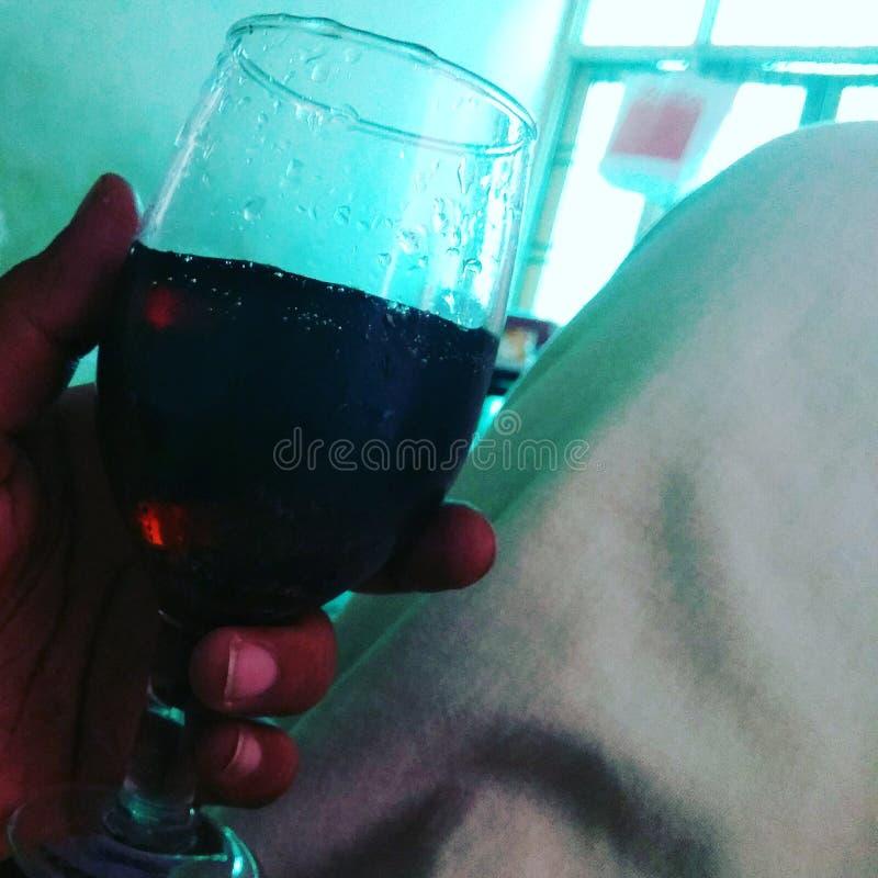 Szkło winograd zdjęcia royalty free