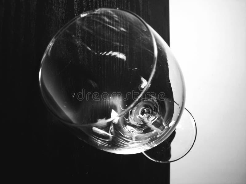 szkło z white obrazy stock