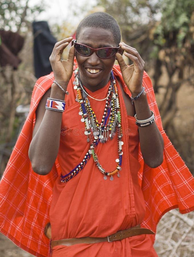 szkieł masai słońce obraz royalty free