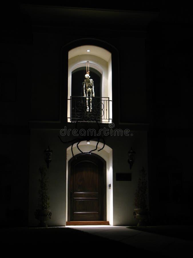 szkielet dekoracji Halloween. zdjęcie royalty free