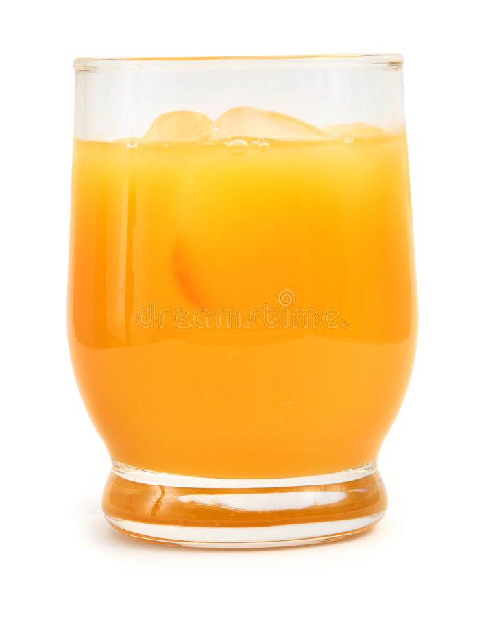 szklana świeże pomarańcze ofr soku zdjęcia stock