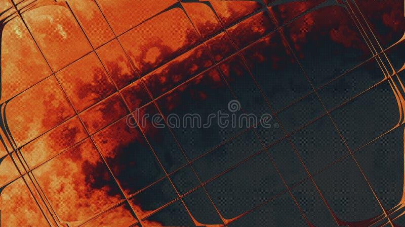 Szklana abstrakcja fotografia royalty free