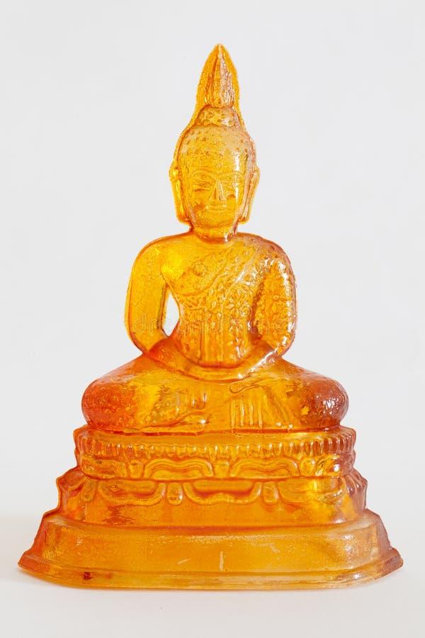 Szklana Buddha statua zdjęcie royalty free