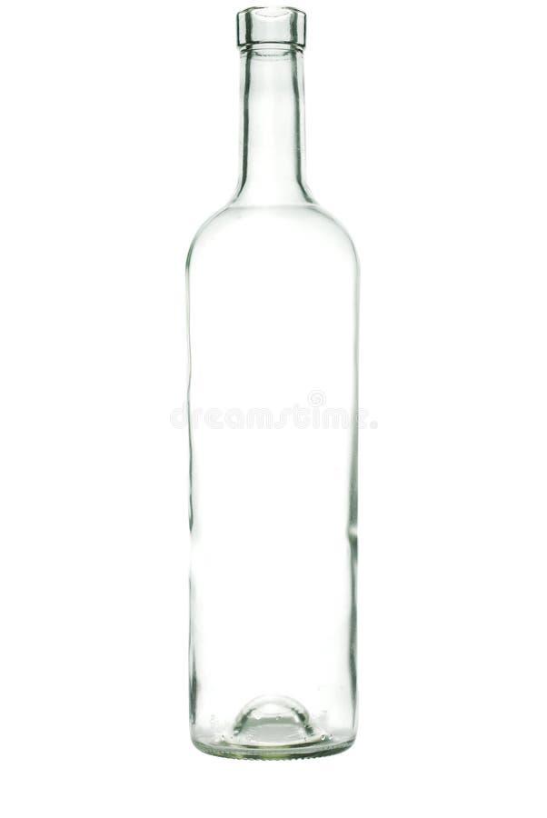 Szklana butelka obraz stock