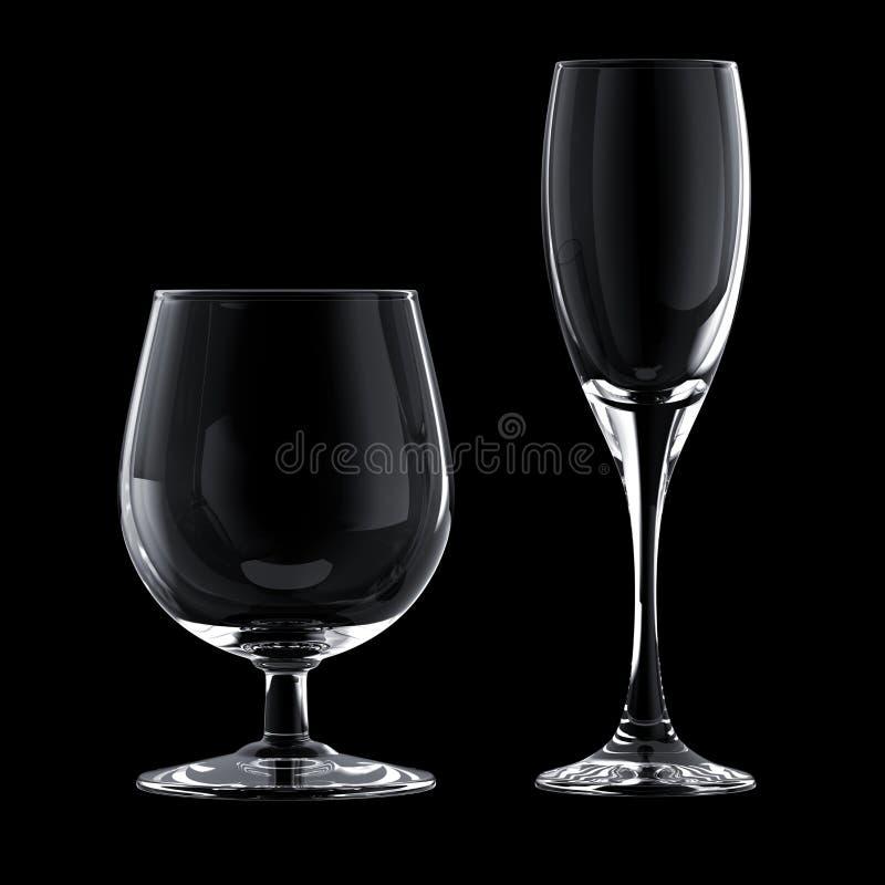 szklana czara ilustracja wektor