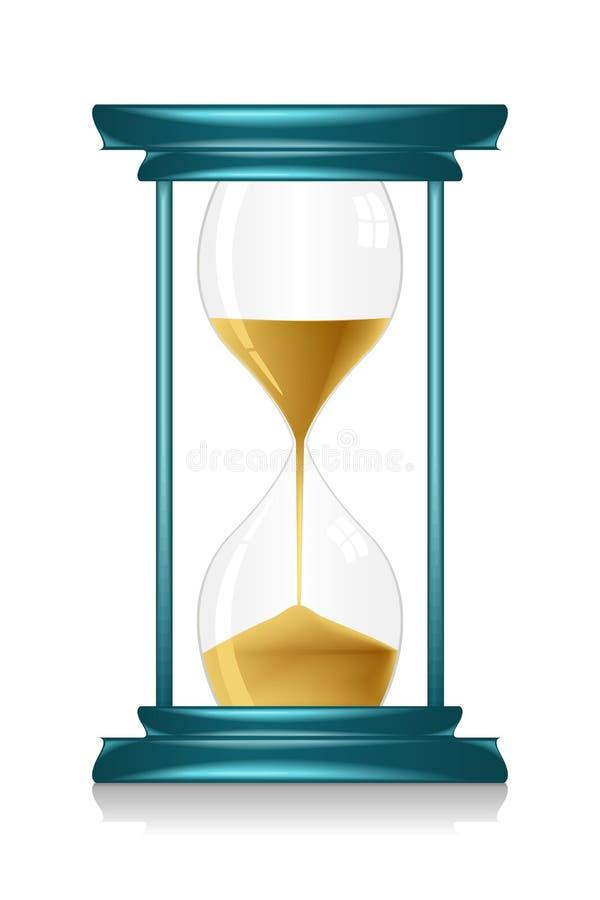 szklana godzina royalty ilustracja