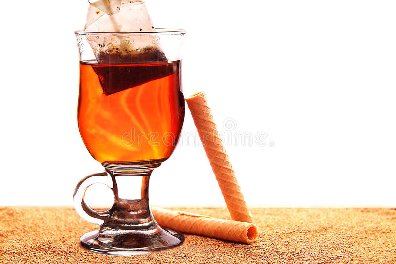 szklana herbata obrazy stock