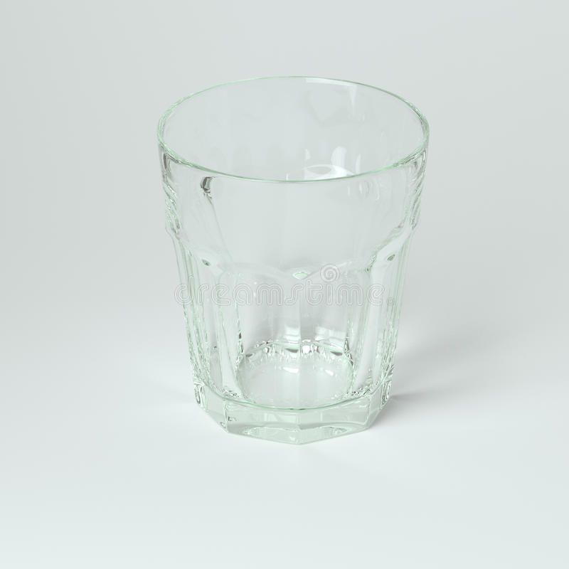 Szklana kolekcja - woda. Na Białym tle royalty ilustracja