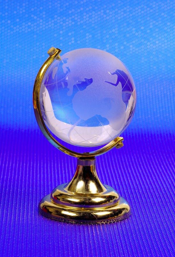 Download Szklana kula ziemska obraz stock. Obraz złożonej z mapa - 143199