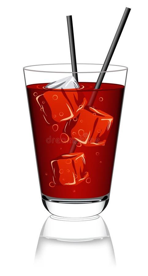 szklana lemoniada ilustracja wektor