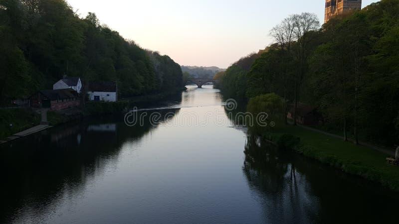 Szklana rzeka obraz stock