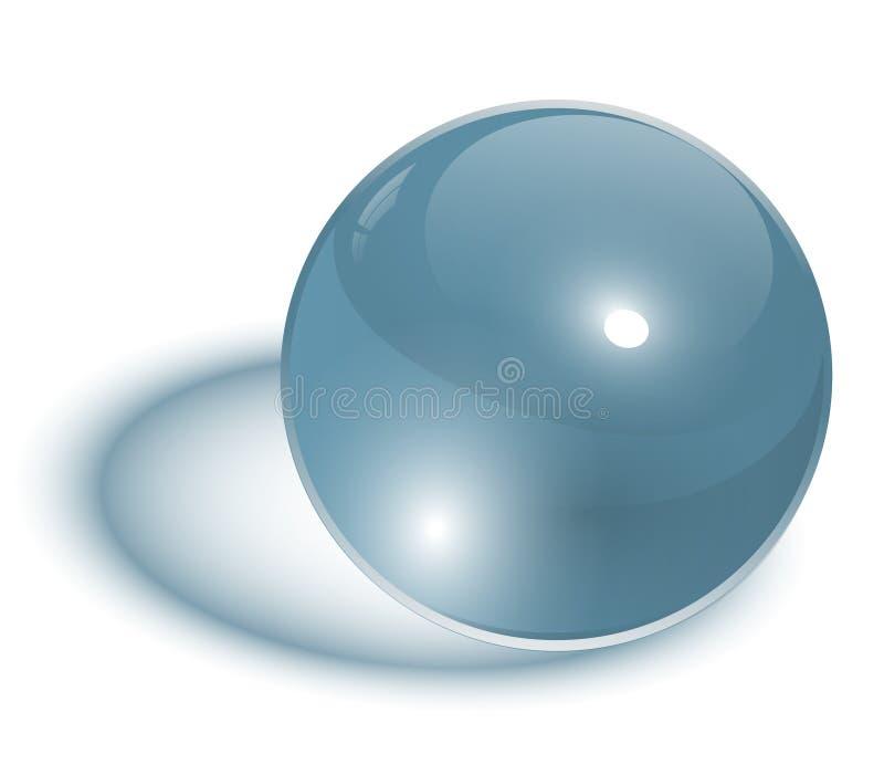 szklana sfera ilustracja wektor