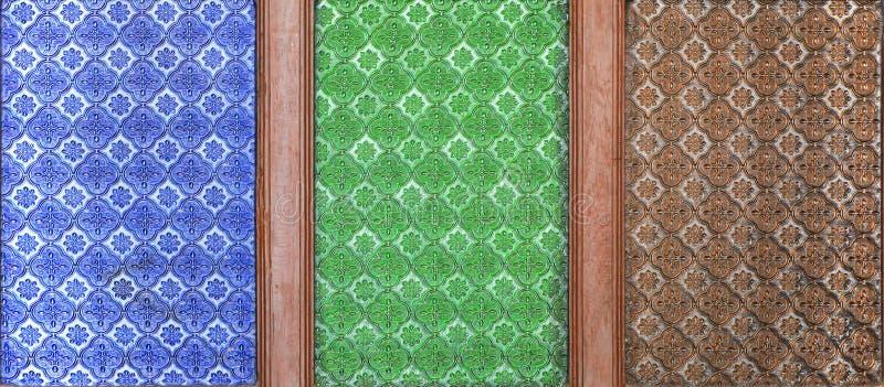 Szklana tekstura zdjęcie royalty free