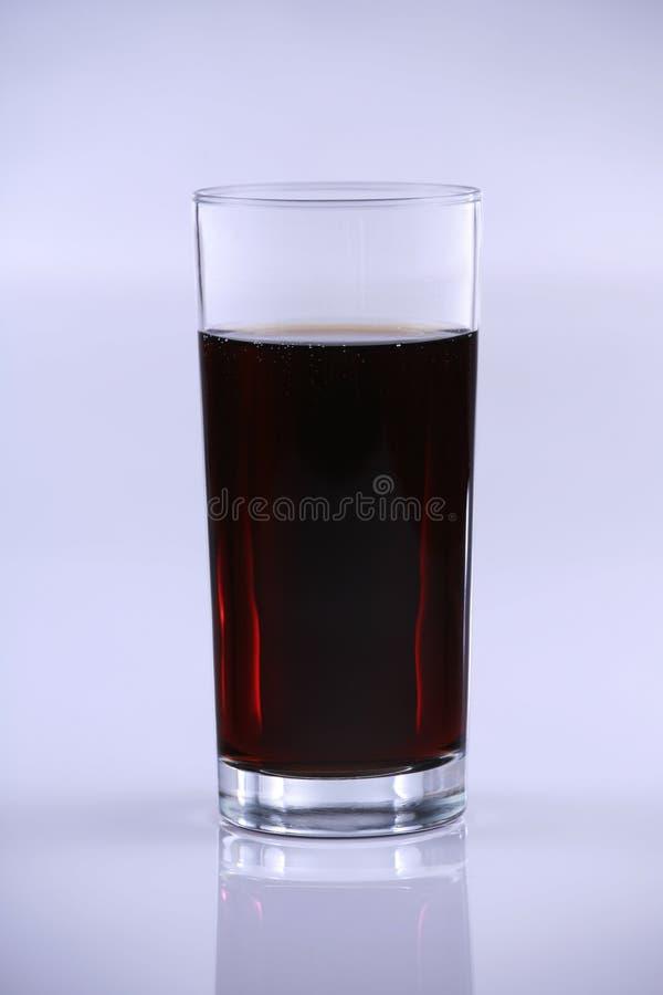 szklana wystrzał soda wysoka fotografia royalty free