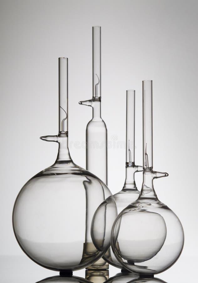 szklane butelek kolby zdjęcie royalty free