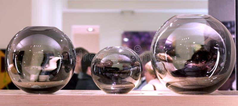 szklane sfery wewnętrznej dekoracje obrazy stock