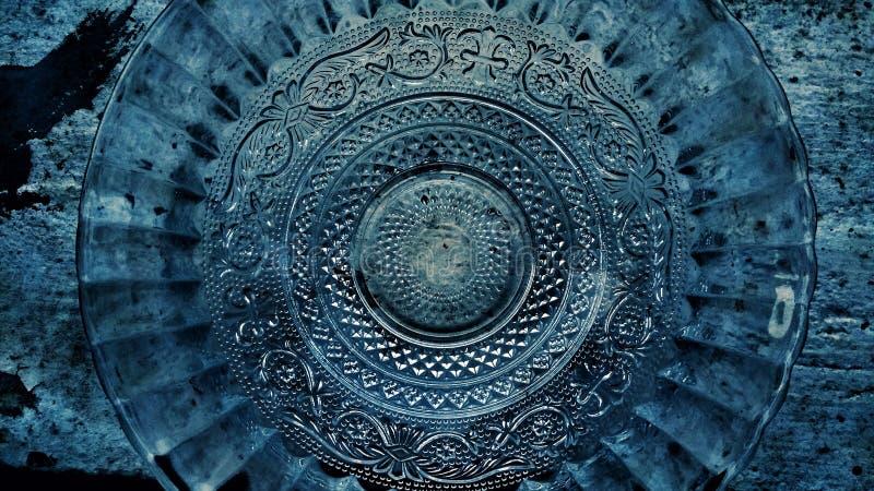 Szklanego talerza fantazja zdjęcie royalty free