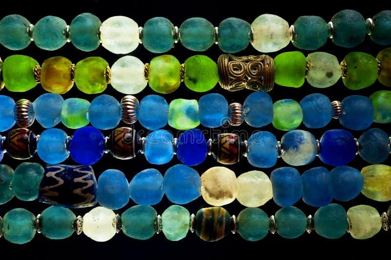 Szklani koraliki fotografia stock