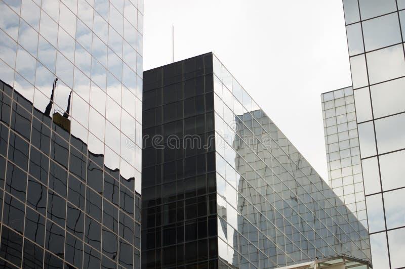 Szklani Korporacyjni budynki zdjęcia stock