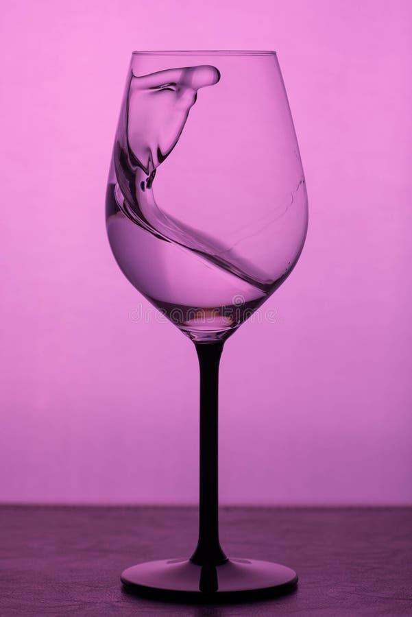 szklankę wody obrazy stock