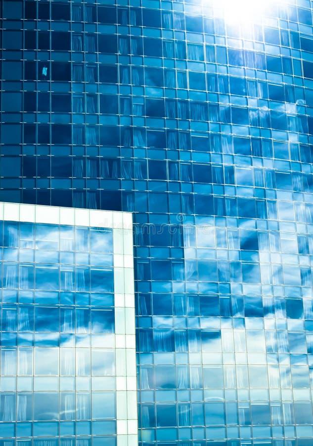 Szklany budynek obrazy stock