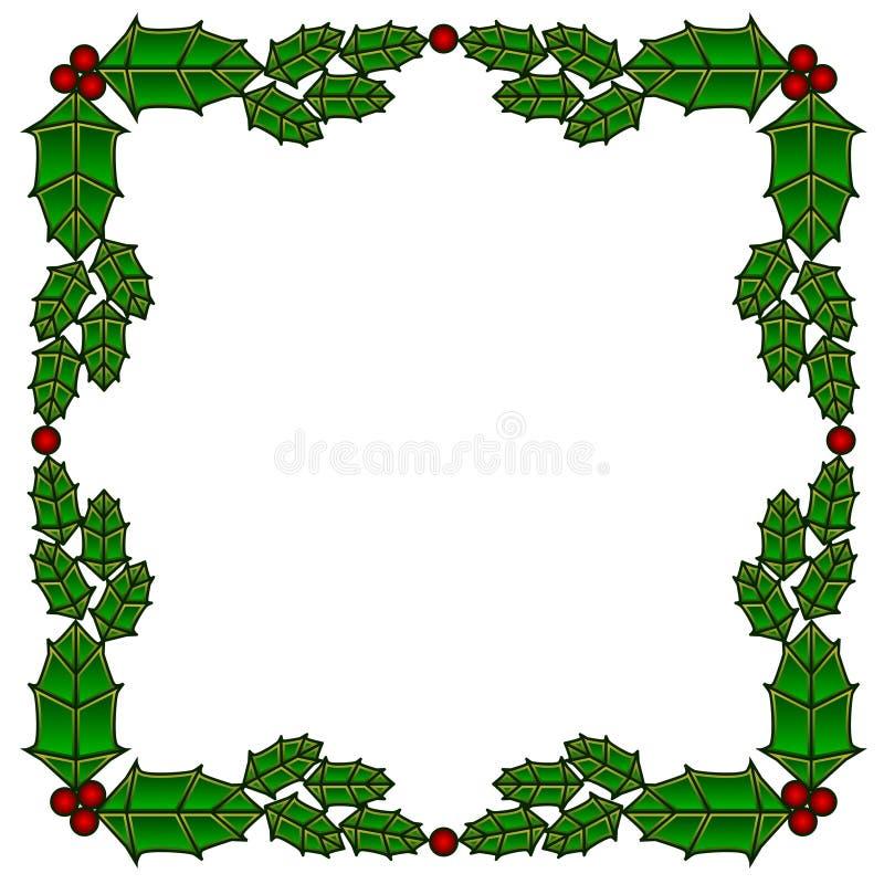 szklany graniczny holly oznaczane royalty ilustracja