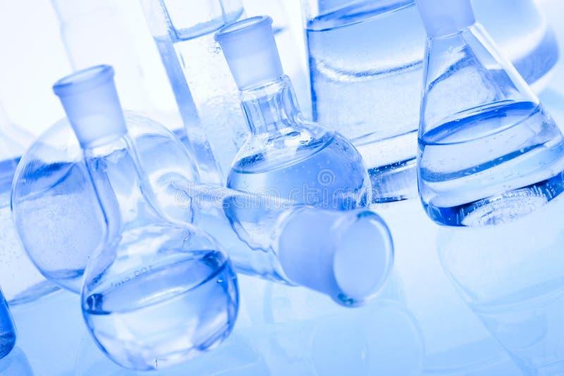 szklany laboratorium obrazy stock