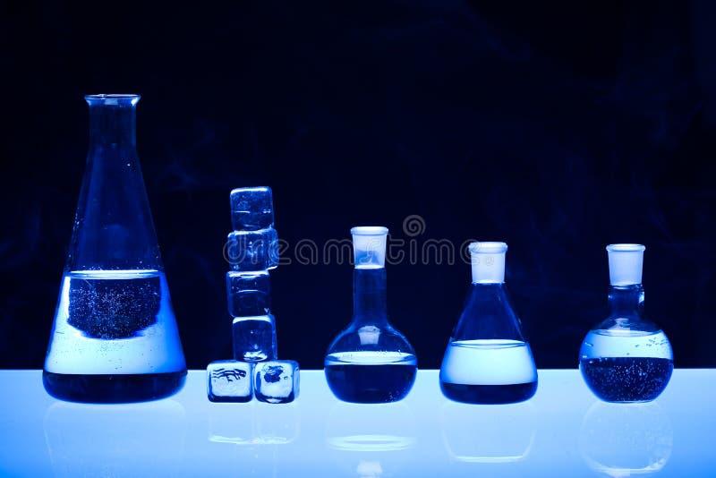 szklany laboratorium zdjęcia stock