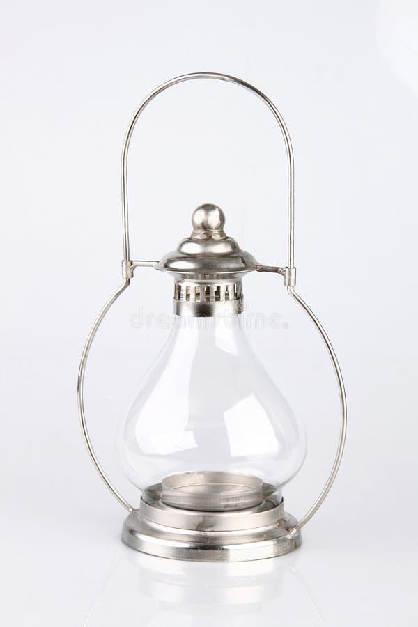 szklany latarniowy rocznik zdjęcia stock