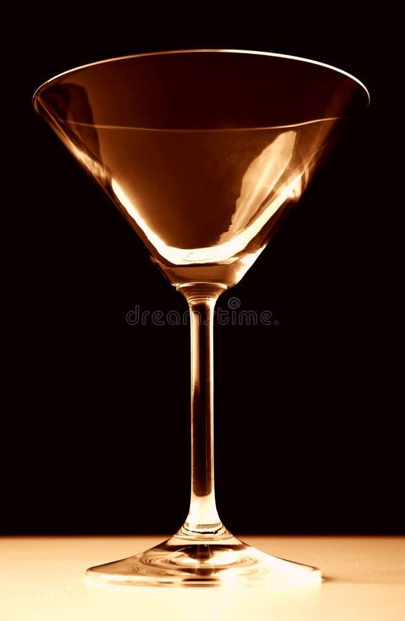 szklany Martini obrazy royalty free