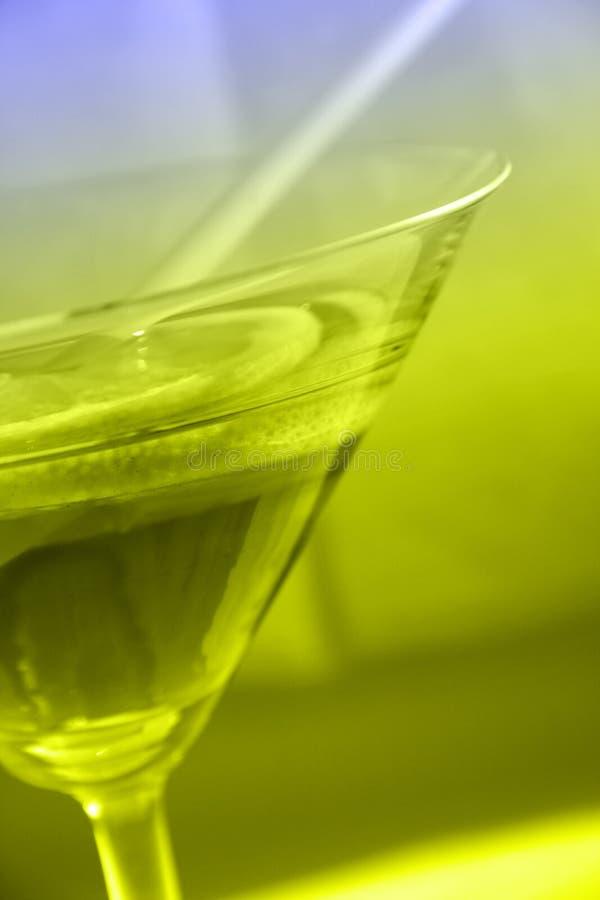 szklany Martini obraz stock