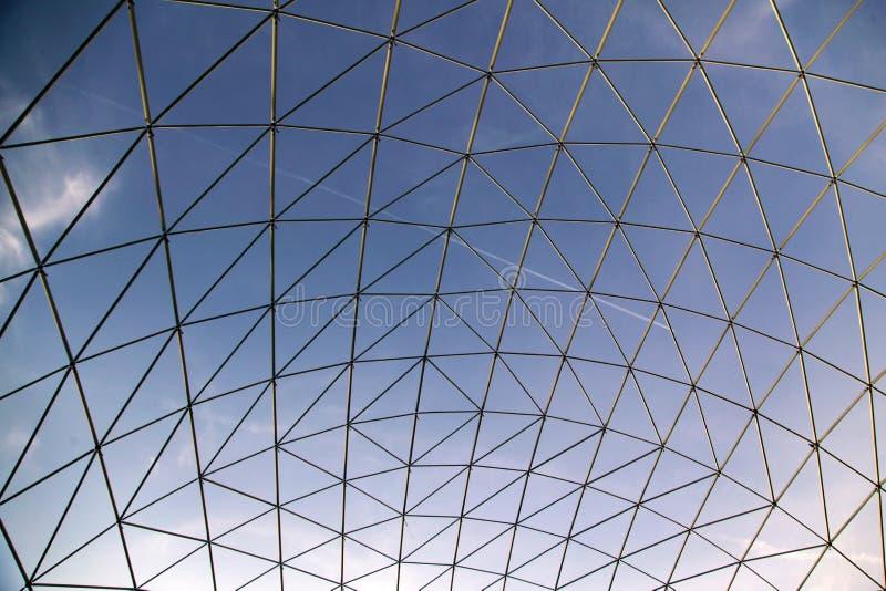 Szklany panelu dach. obrazy stock