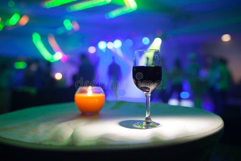 szklany plażowy lunchu wino obrazy royalty free