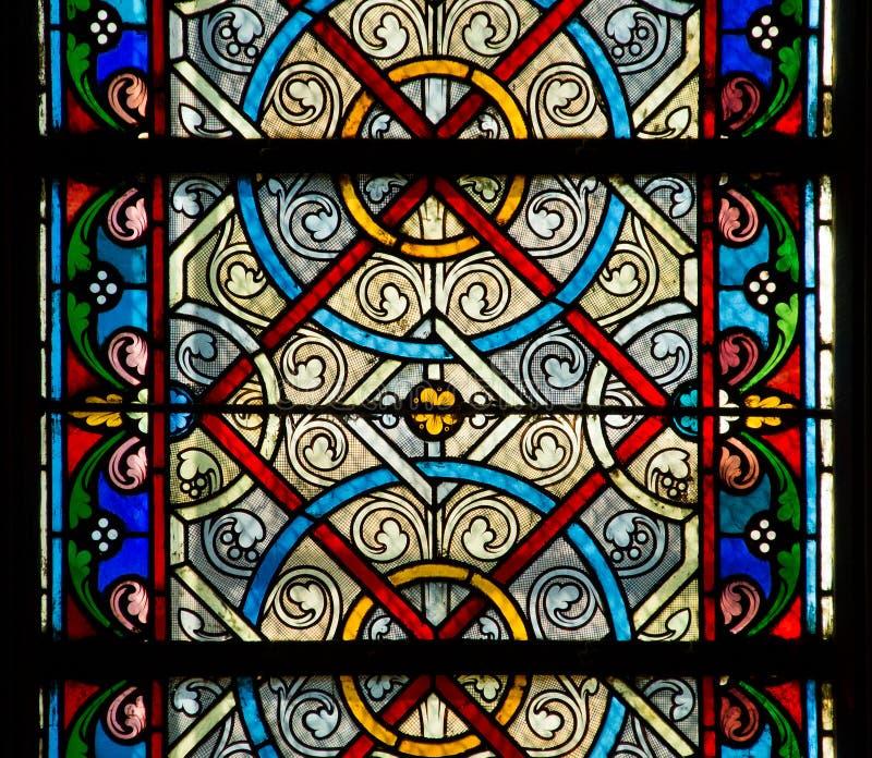 Szklany plamy okno zdjęcie royalty free