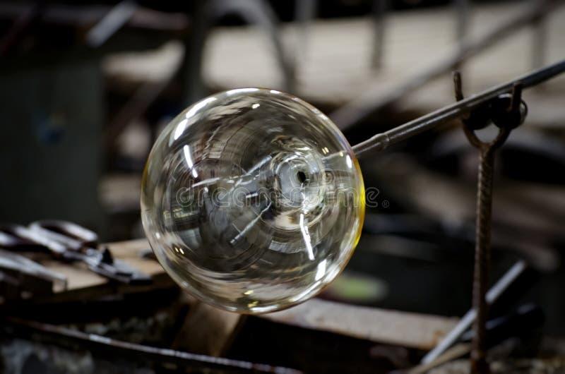 Szklany produkcja przemysł zdjęcia stock