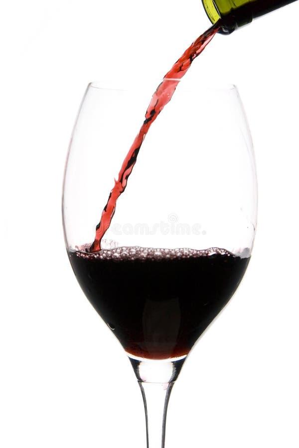 szklany restauracyjny wino fotografia royalty free