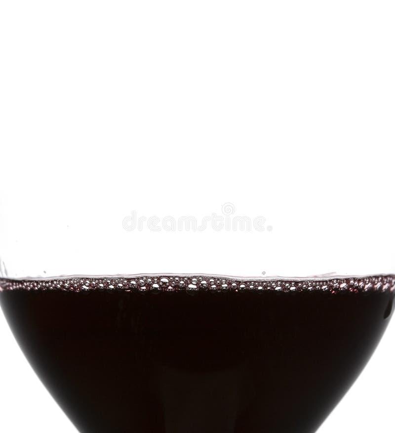 szklany restauracyjny wino obraz stock